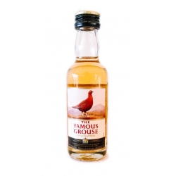 Botellita Miniatura Whisky The Famous Grouses Blended Scotch