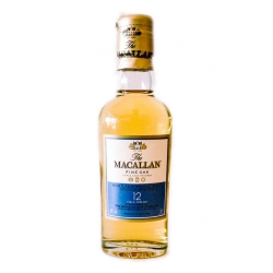 Botellita Miniatura Whisky The Macallan 12 años