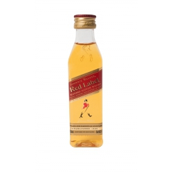 Botellita Miniatura Johnnie Walker Red Label Whisky