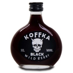 Botellita Koffka Vodka Negro