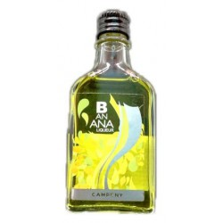 Mini botella Licor Banana Campeny