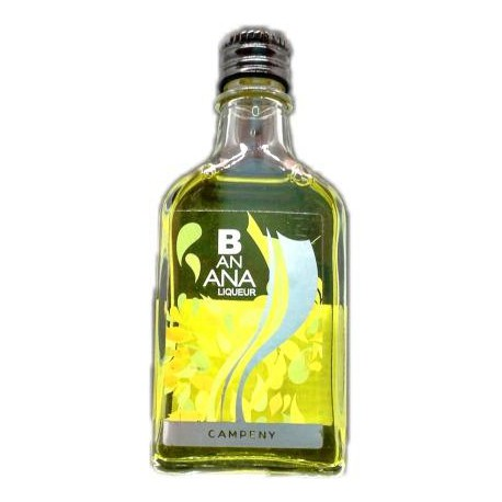 Botellita Licor Banana Campeny