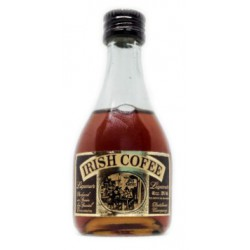Mini botella licor Irish Coffee