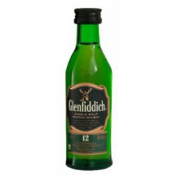 Mini Botella Whisky Glenfiddich
