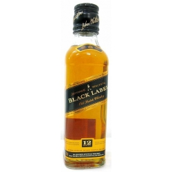Mini Botella Whisky Johnnie Walker Black