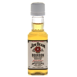 Botellita Miniatura Jim Beam Bourbon