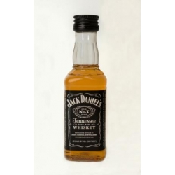 Mini botella Whisky Jack Daniels