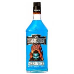 Botellita Miniatura Absenta El Diablo Azul