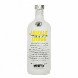 Botellita Miniatura Absolut Citron vodka