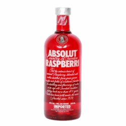 Botellita Miniatura Absolut Raspberry