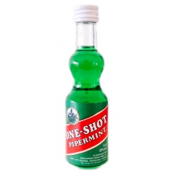 Botellita Miniatura Licor Menta Pipermint One Shot