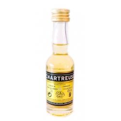 Botellita Miniatura Chartreuse Amarillo