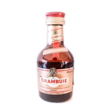 Botellita Miniatura licor Drambuie