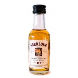 Mini botella Whisky Aberlour