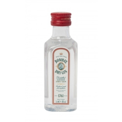 Mini Botella Ginebra Bombay