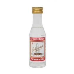 Botellita Miniatura Stolichnaya Premium Vodka