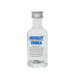 Mini Botella Vodka Absolut