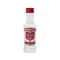 Botellita Miniatura Smirnoff Premium Vodka