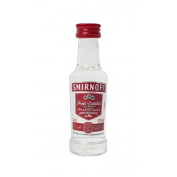 Mini botella Vodka Smirnoff