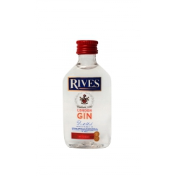 Botellita Miniatura Rives London Gin