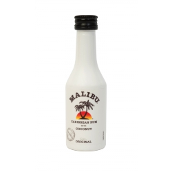 Mini Botella Ron Malibu