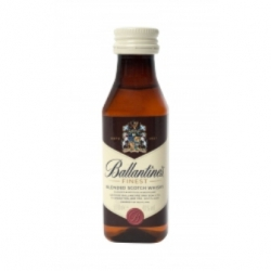 Botellita Miniatura Ballantine's Scotch Whisky