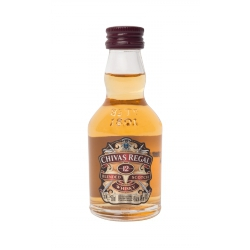 Botellita Miniatura Chivas Regal Scotch Whisky