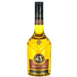 Mini botella Licor 43