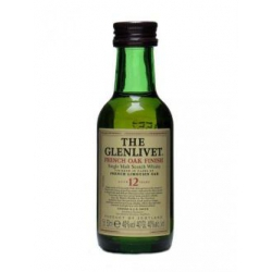 Mini botella Whisky Glenlivet