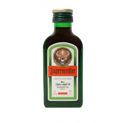Mini Botella Jagermeister